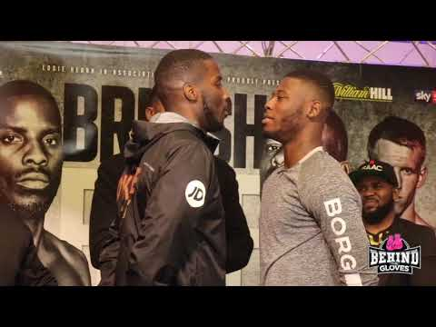 ENEMIES LAWRENCE OKOLIE & ISAAC CHAMBERLAIN EXCHANGE WORDS DURING HEATED FACE OFF!