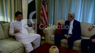 PAKISTAN:SECY KERRY MEETS OPPOSITION LEADER KHAN