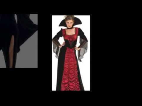Sexy and Sassy Vampiress Costumes