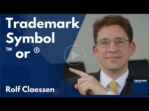 Trademark Symbol - ™or ® - Why TM could be dangerous in Germany