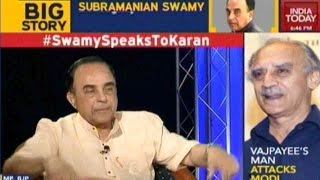 To The Point : Dr Subramanian Swamy In Conversation With Karan Thapar