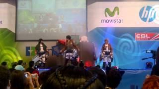 Shingeki no Kyojin Concurso de Cosplay Summer-Con TLP2k13