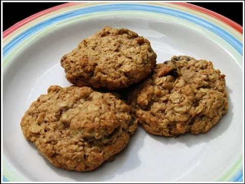 High-Protein Bodybuilding Oatmeal Cookies