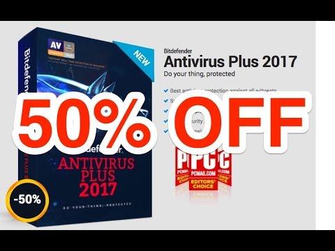 Bitdefender Antivirus Plus 2018   50% Discount Coupon Code