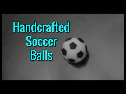 Handcrafted Soccer Balls
