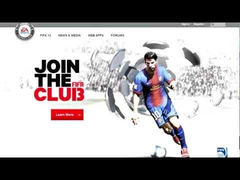 FIFA 13 Ultimate Team Web App Tools & Launch