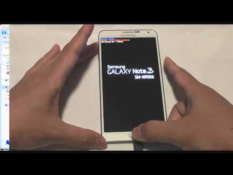 Galaxy Note 3 Install CWM and Gapps SM-N9006 Chinese Model