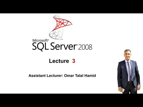 03 Create New Database and New Table Set a Primary Key and Auto Increment in SQL Server 2008