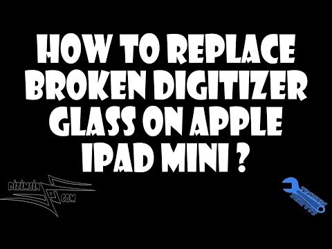 How to replace Apple iPad Mini Glass Digitizer Touch Screen ? Step by Step instruction !