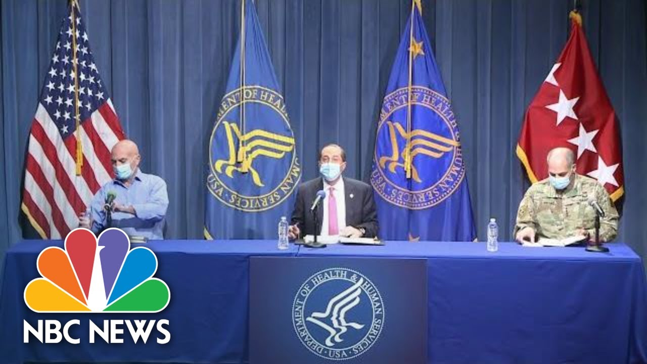 Officials Hold Briefing On Operation Warp Speed, Covid Vaccine Distribution