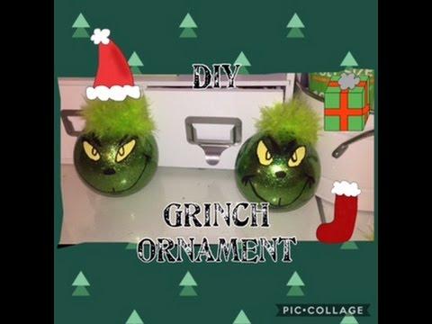 DIY: Grinch ornament