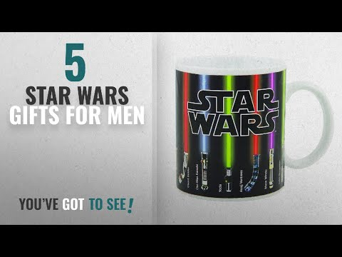 Top 10 Star Wars Gifts For Men [2018]: Star Wars Mug, Lightsabers Appear With Heat (12 oz)