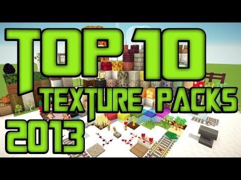 Minecraft Top 10 Texture Packs [1.7.9] + Download [HD] [German/Deutsch]