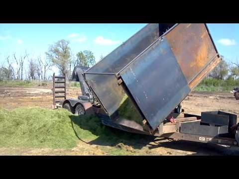 Homemade Dump Trailer 1