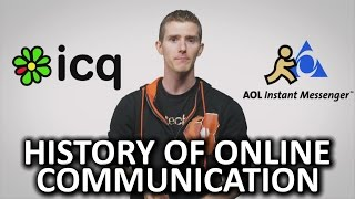 The History of Online Communication