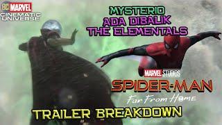 Mysterio Bikin The Elementals Untuk Jadi Superhero | Spider-Man Far From Home Trailer Breakdown