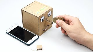 How to Make Coin Bank Box with Smart Key