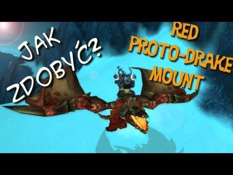 Jak zdobyć - Red Proto-Drake mount World of Warcraft
