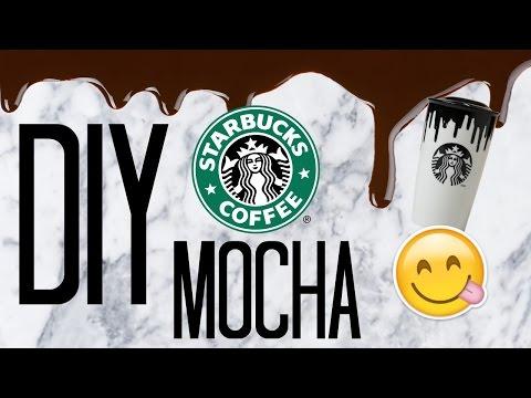 DIY STARBUCKS MOCHA! || COPYCAT STARBUCKS! //maiahloves