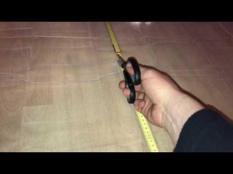 How to attach a Mosquito net for windows DIY
