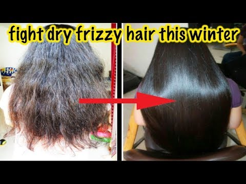 Winter hacks to reduce dry Frizzy unmanageable hair  | No more dry hair | Silky Shiny Hair Easily