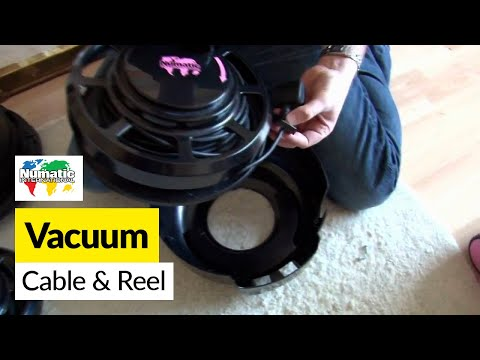 How to replace a Henry cable and reel on a Numatic Henry or Hetty vacuum cleaner