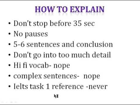 PTE speaking- describe image