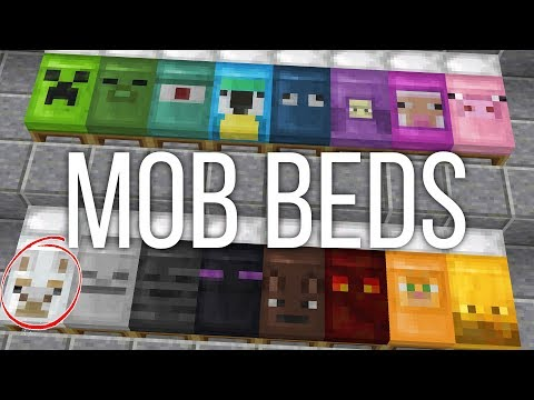 How to Get Custom Mob Beds in Minecraft