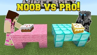 Minecraft: NOOB VS PRO!!! - PARTY GAMES!! - Mini-Game