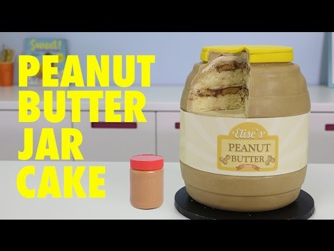 GIANT Peanut Butter CAKE -- How to Make the ULTIMATE Peanut Butter CupCAKE!