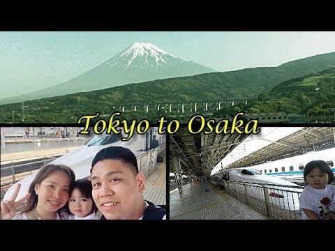 Tokyo to Osaka Shinkansen | Kuromon Market | Kobe Beef | Travelling with a Toddler