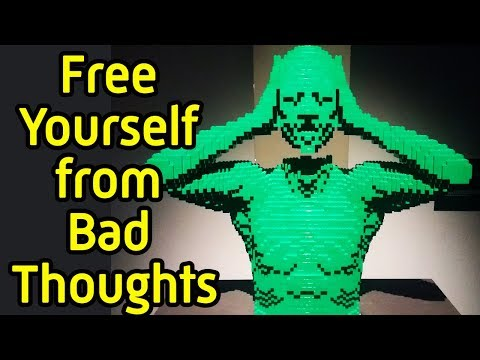 How to remove negative thoughts from the mind - How stop thinking bad thoughts and stop mind chatter