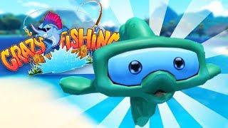 CATCHING the MONSTER BINOCULAR FISH! - Crazy Fishing HTC Vive VR