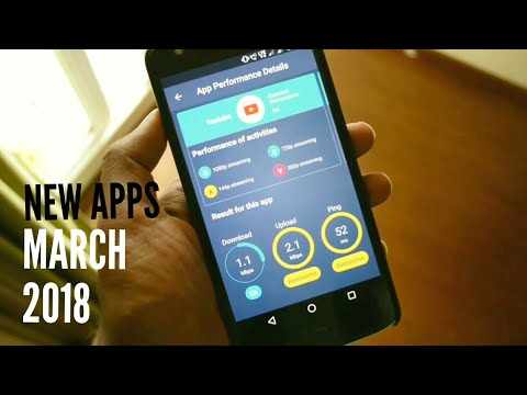 New android apps march 2018