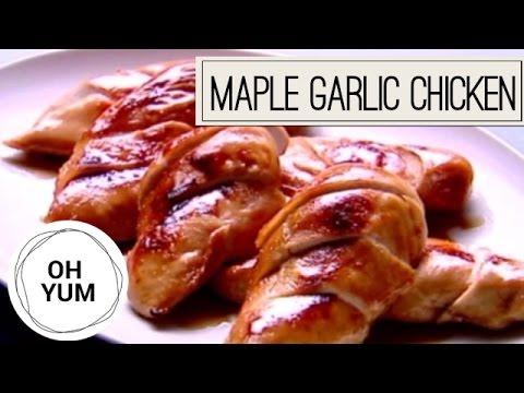 Maple Garlic Roast Chicken | Oh Yum with Anna Olson