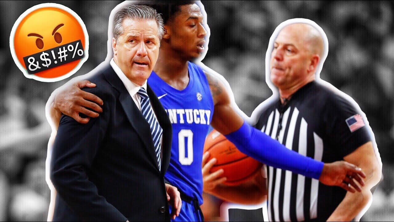 College Basketball Ejections Compilation