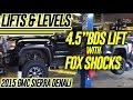 Lift & Levels: 2015 GMC Sierra Denali, 4.5