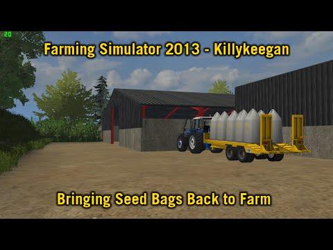 Farming Simulator 2013 - Killykeegan - Bringing Seed Bags back to the Farm