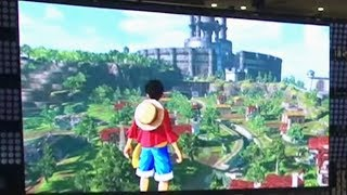 1ST OFFICIAL TRAILER! - One Piece World Seeker: Jump Festa 2018 Reveal (OFFSCREEN) 1080P