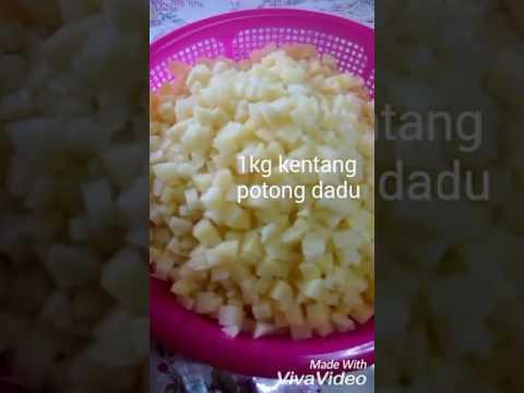 Inti Karipap Pusing - Kentang + Daging