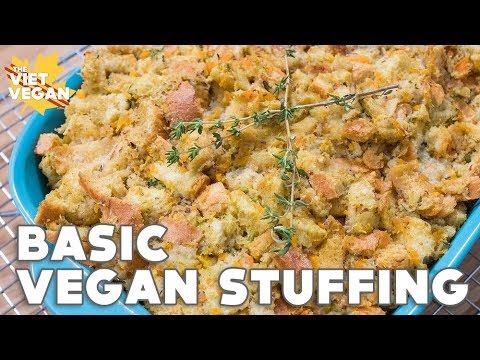 Easy Basic Vegan Stuffing