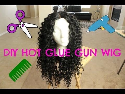 DIY Hot Glue Gun Wig For Under $20 | Outre Dominican Curly Bundles | SamsBeauty.com