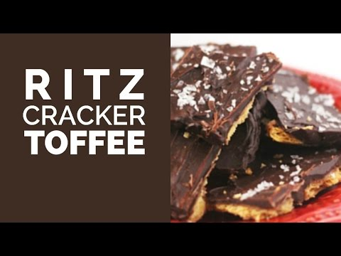 Ritz Cracker Toffee (Christmas Crack)