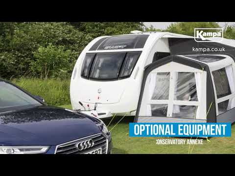 Kampa  2018 Awnings  Key Features  Optional Equipment  Overview 1