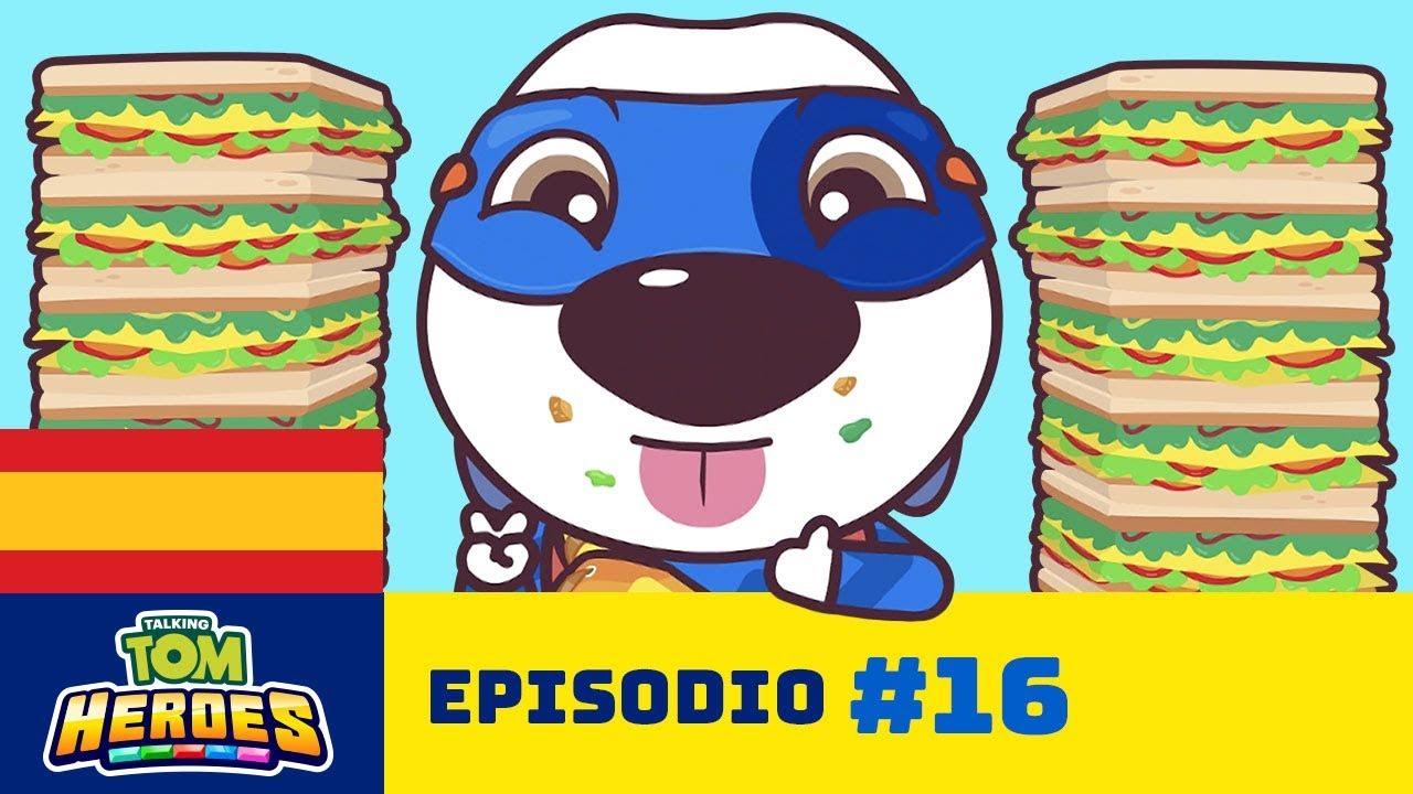 Talking Tom Heroes - Campeonato de ultra comelones (Episodio 16)