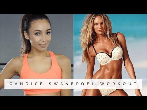 CANDICE SWANEPOEL SUPERMODEL WORKOUT | Danielle Peazer