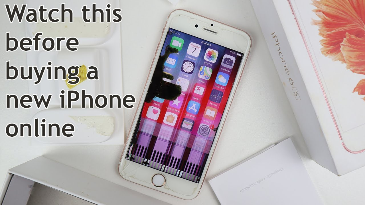 New Sealed In-box iPhone Scam - WATCH OUT!