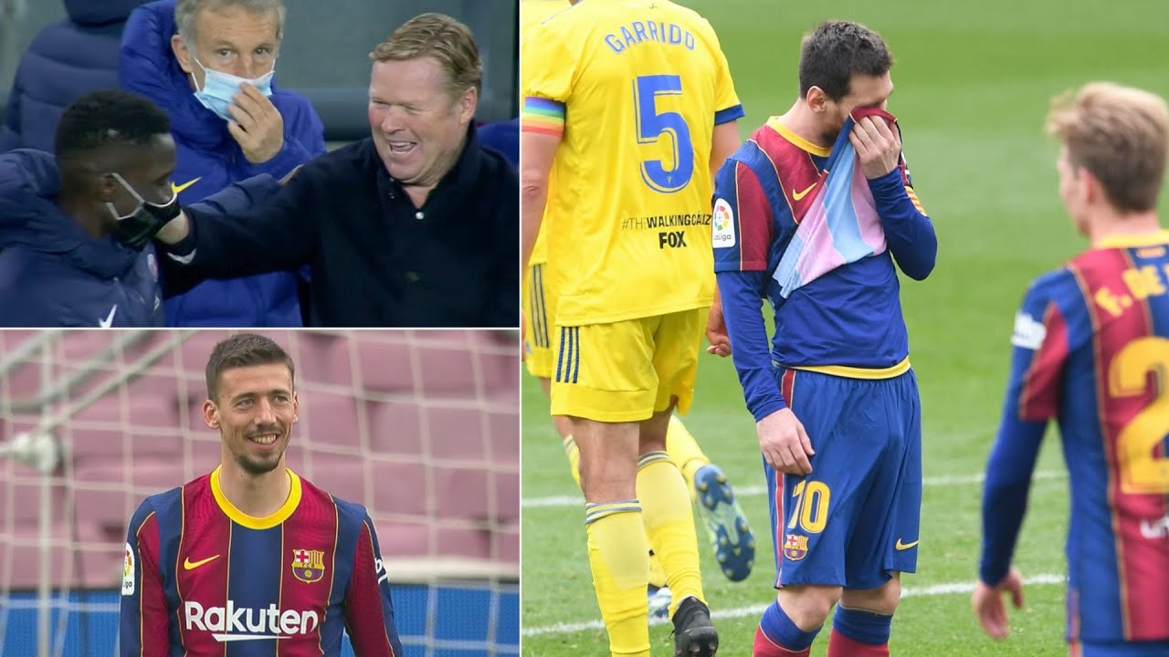 Reacting to a disastrous week for Barcelona in La Liga & the Champions League...