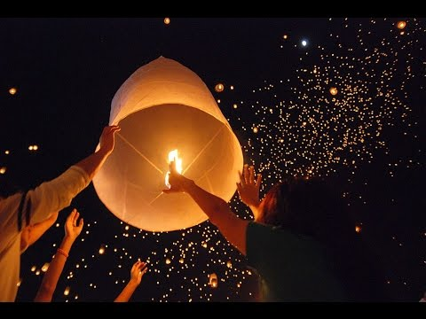 How To Light & Launch Sky Lanterns | Safety Precautions | Awesome Fun 2016