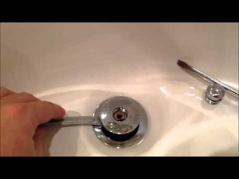 So Easy! How to Remove a WATCO Pop-up Drain Plug